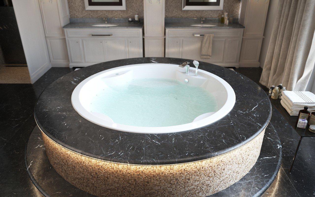 Allegra wht built in relax acrylic bathtub by Aquatica 01 (web)