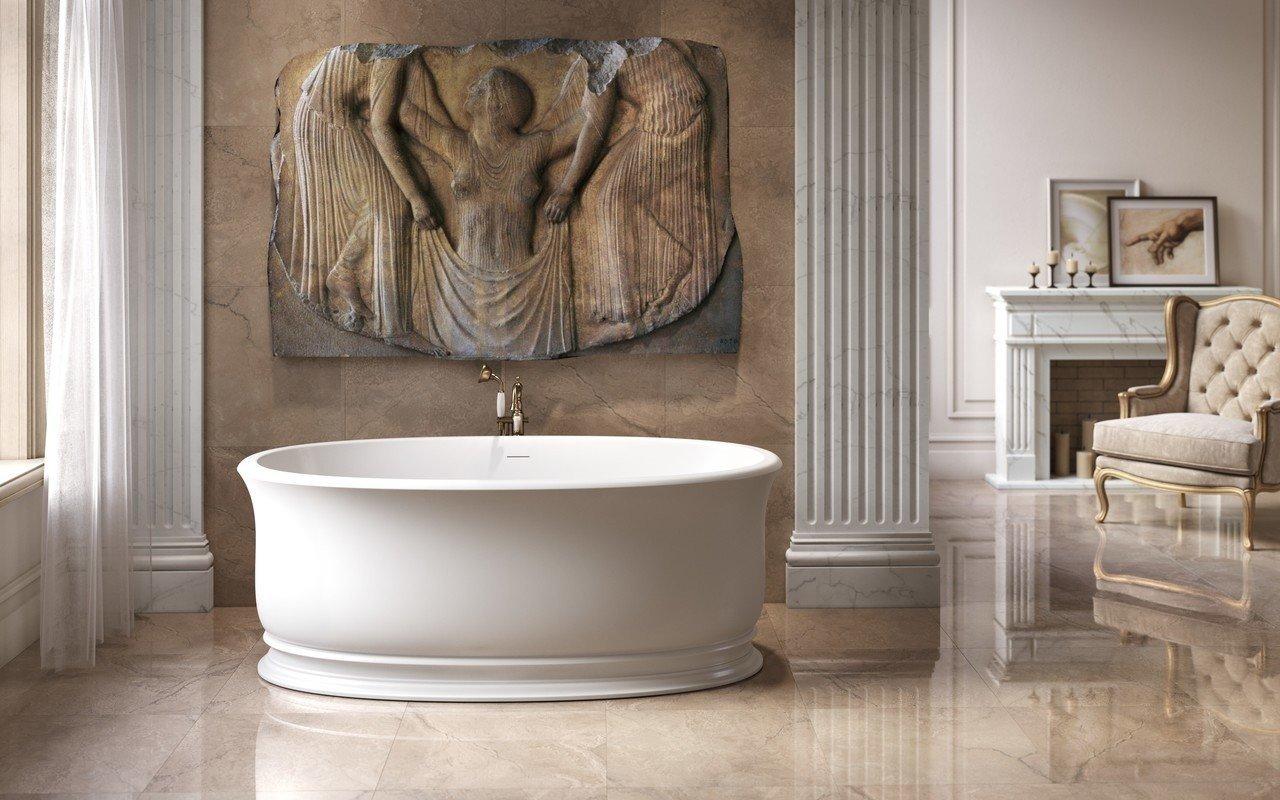 Aphrodite Wht Freestanding Solid Surface Bathtub 01 (web)