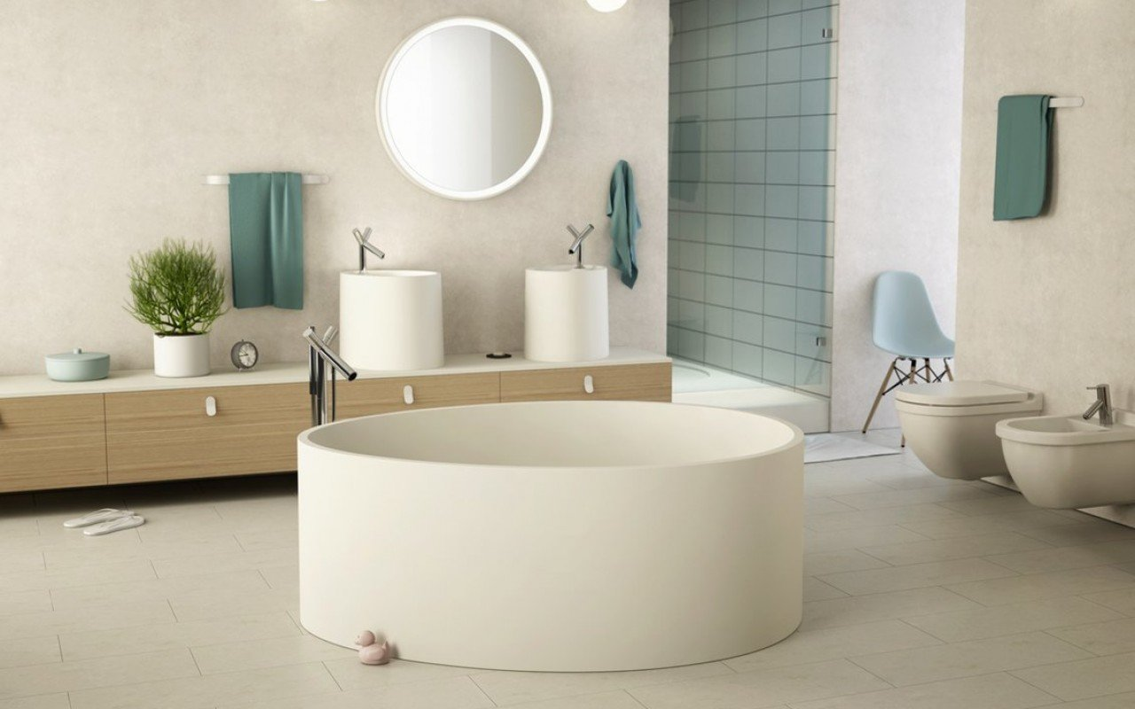 Aquatica OVO Stone Bathroom Vessel Sink 05