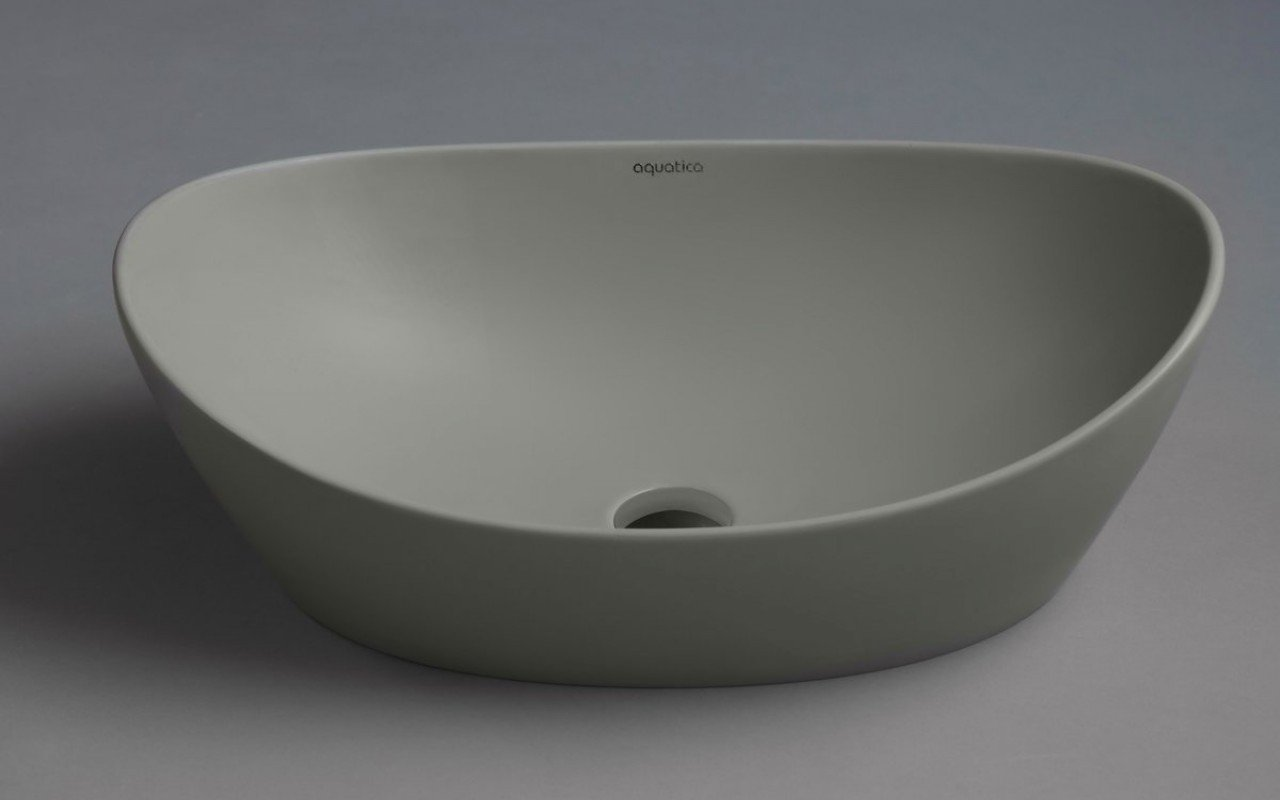 Aquatica Luna Sleek Concrete Stone Vessel Sink picture № 0