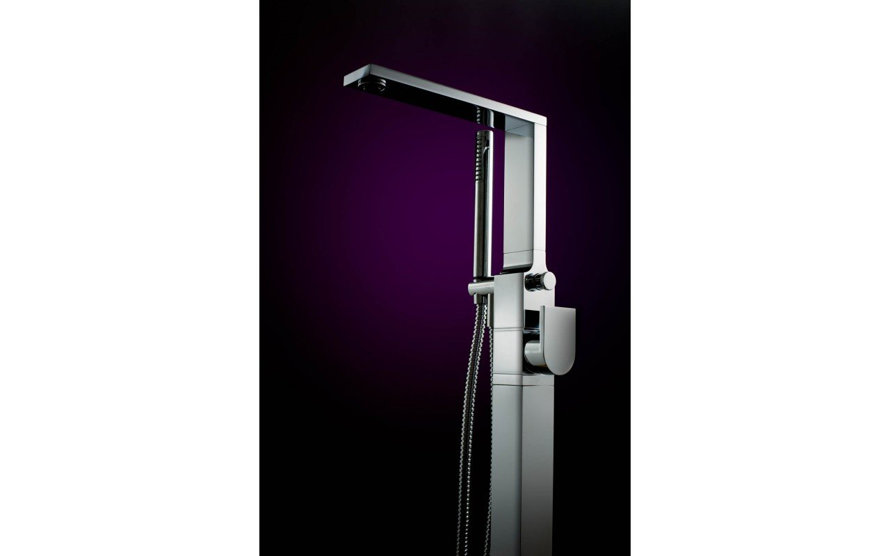 Aquatica Metro (B700 CP) Floor Mounted Tub Filler