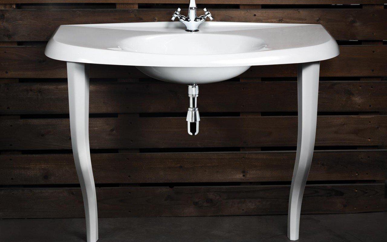 Aquatica Nostalgia EcoMarmor Sink with legs