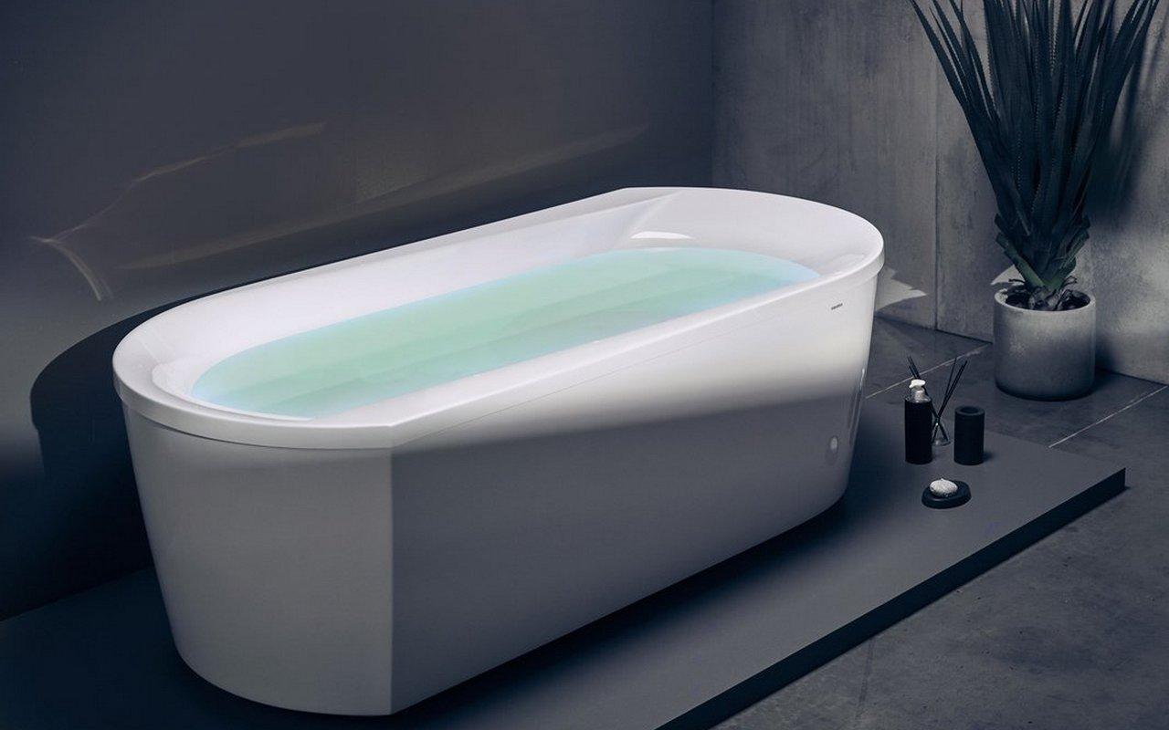 Aquatica Purescape™ 107-Wht Freestanding Acrylic Bathtub picture № 0