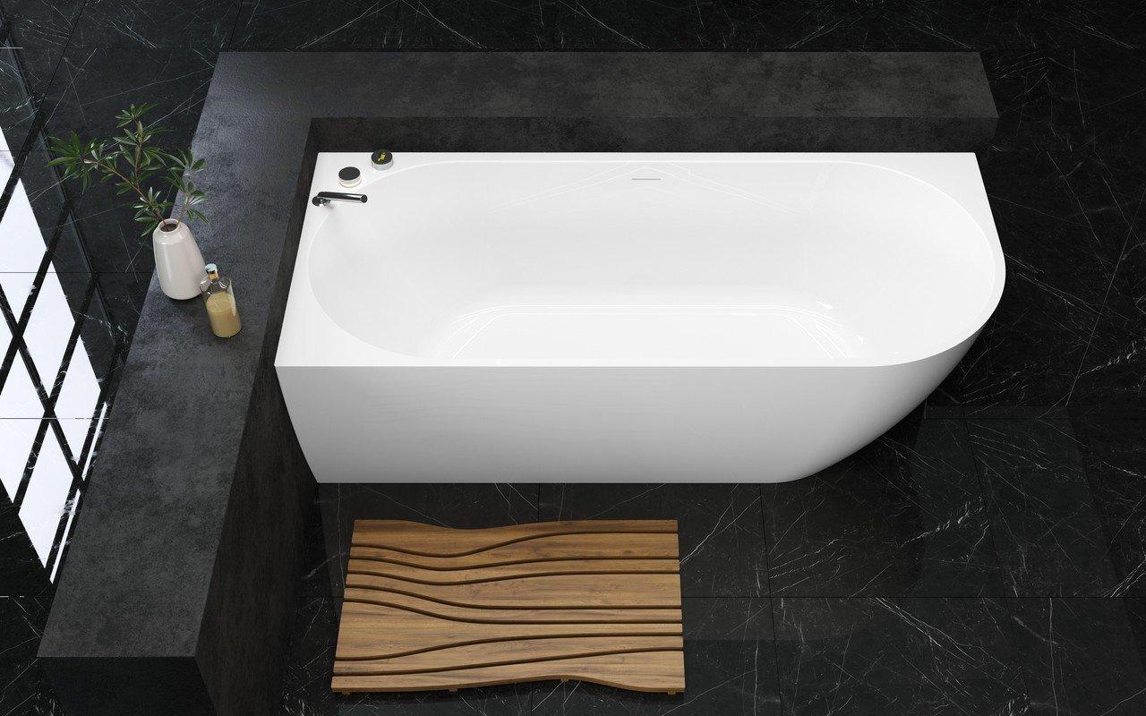 Aquatica Purescape 118-R-Wht Corner Acrylic Bathtub picture № 0