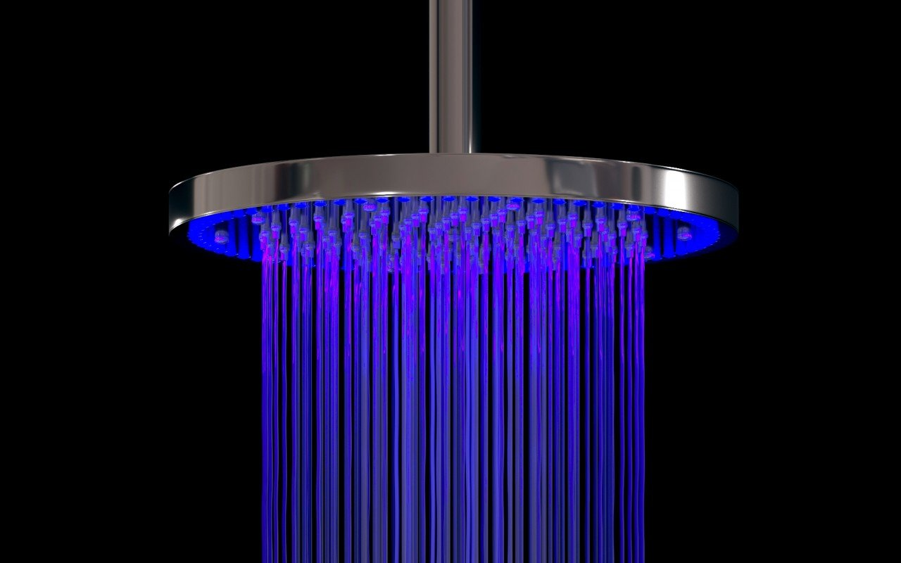 Aquatica Shower Head Sparkle BCRD 240