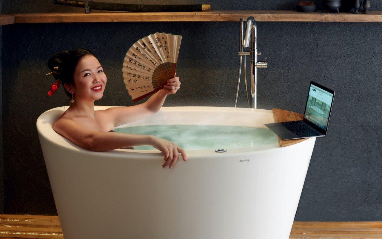Aquatica True Ofuro Tranquility Heated Japanese Bathtub (US version ...