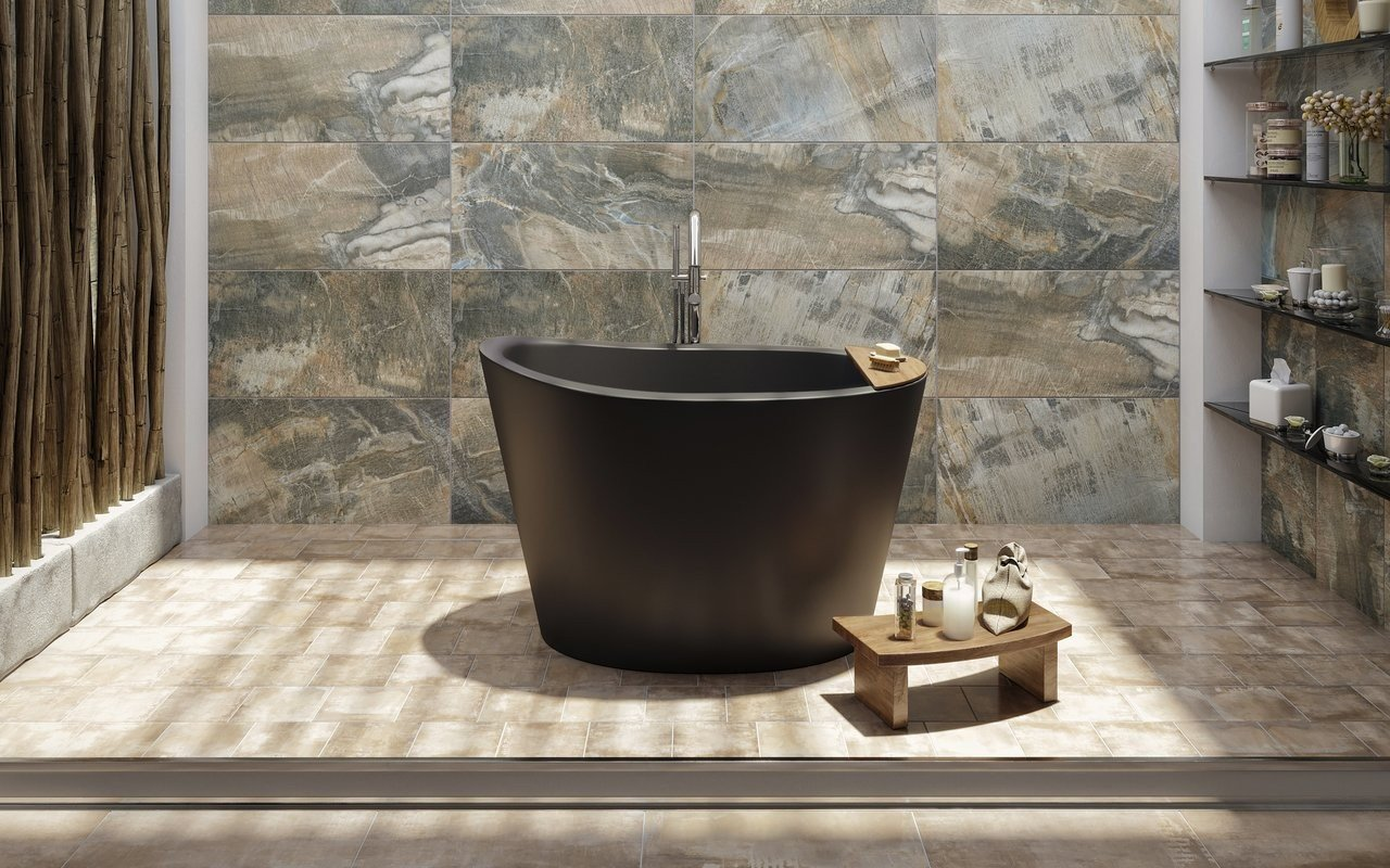 Aquatica TrueOfuro Black Freestanding Stone Bathtub 1 (web)
