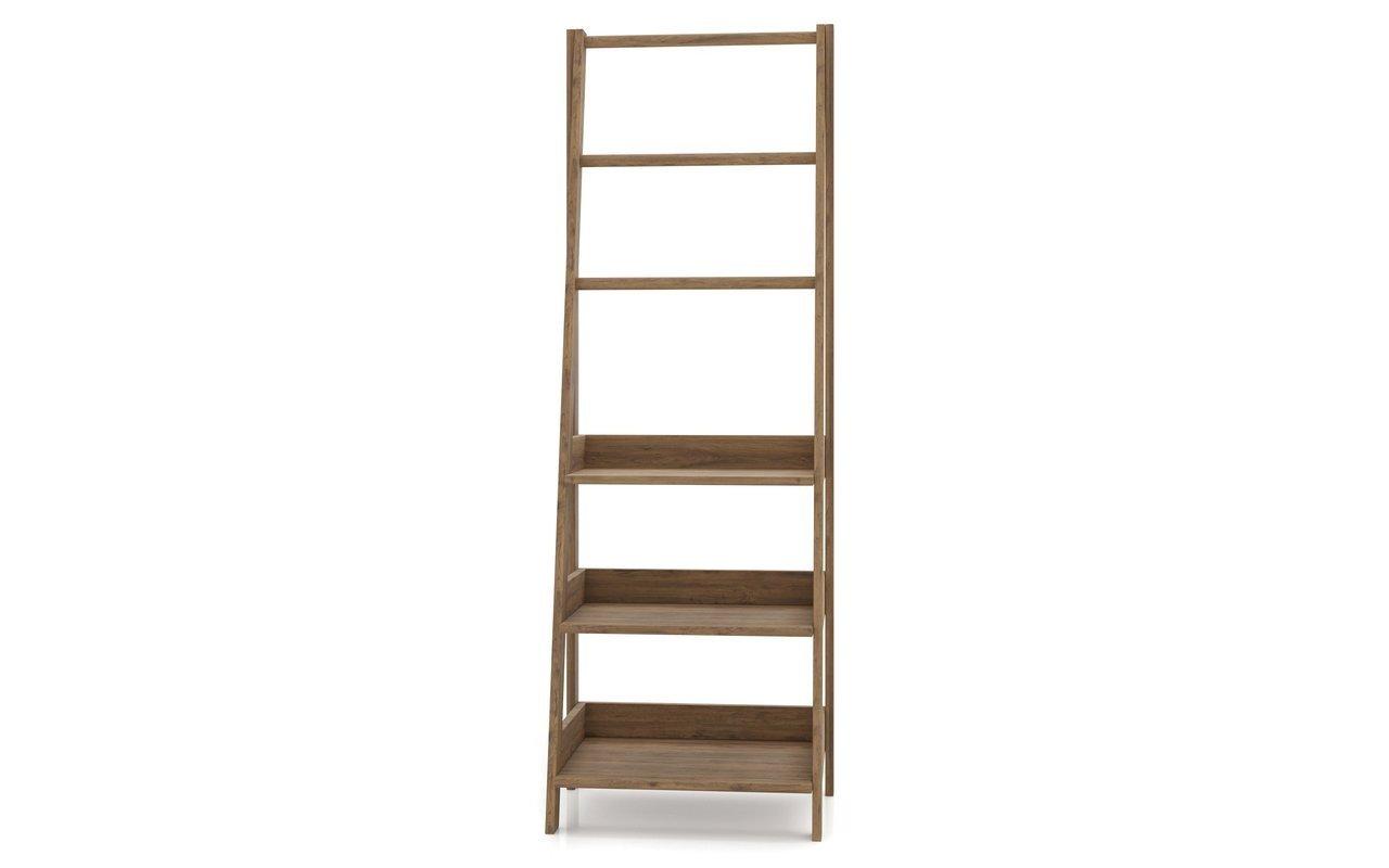 "Aquatica Universal 70.75"" Waterproof Teak Wood Bathroom Ladder Shelf picture № 0"