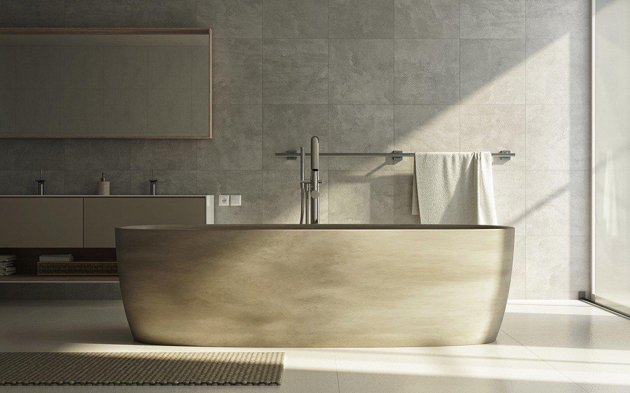 Aquatica coletta concrete freestanding solid surface bathtub web 03