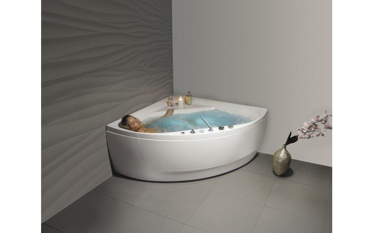 Aquatica Olivia-Wht HydroRelax Jetted Bathtub (US version 110V/60Hz) picture № 0