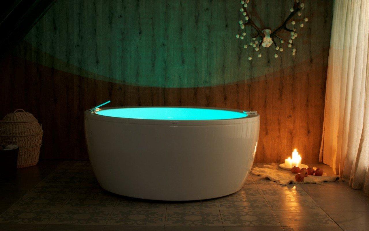 Aquatica Pamela-Wht Relax Air Massage Acrylic Bathtub picture № 0