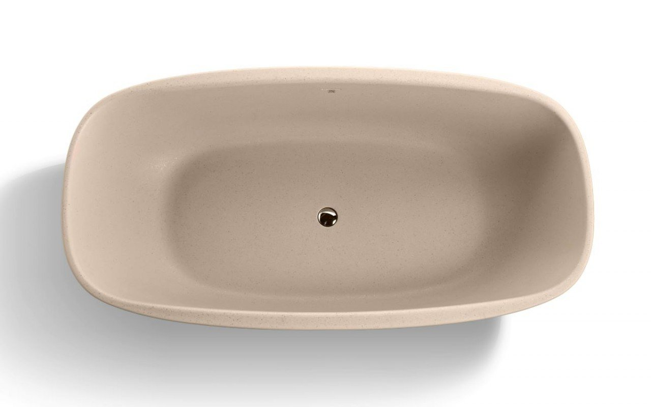 Aquatica Coletta Sandstone Freestanding Solid Surface Bathtub07