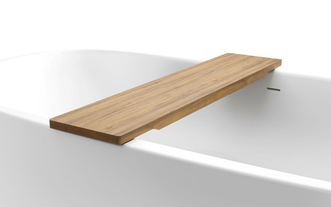 "Aquatica Universal 36.25"" Waterproof Teak Wood Bathtub Tray picture № 0"