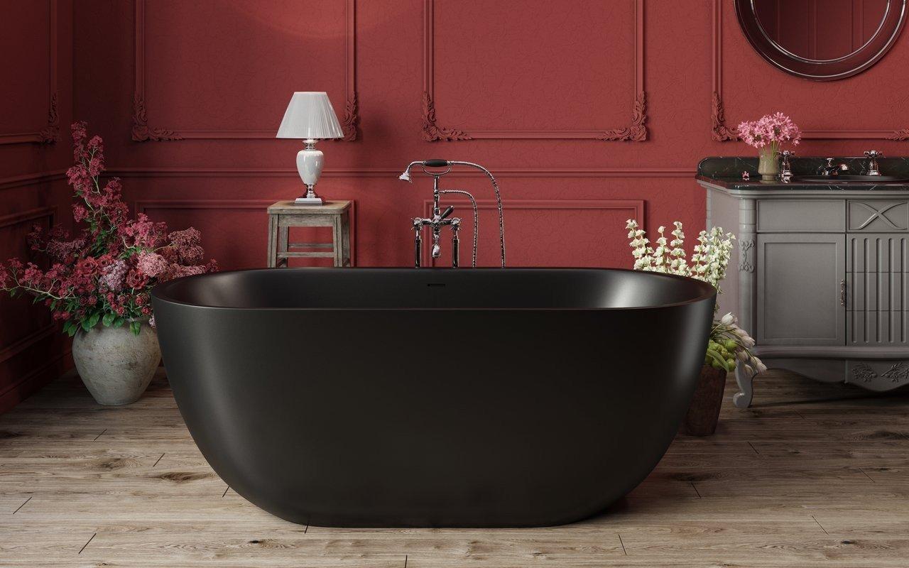 Corelia Black Freestanding Stone Bathtub 1 (web)