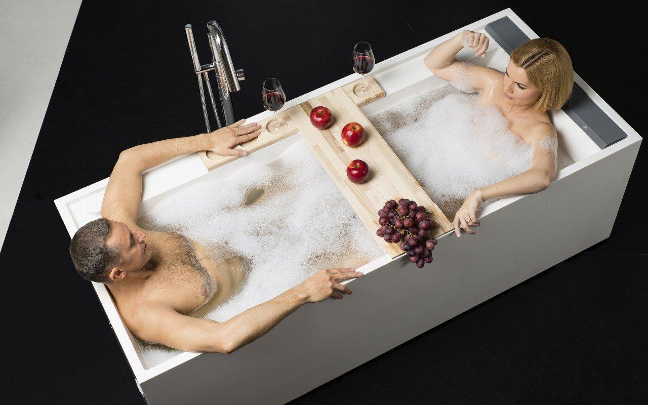 Daydreamer Rectangular Stone Bathtub 6