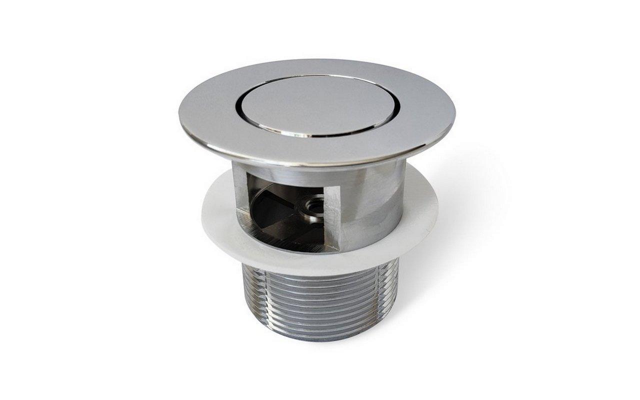 Euroflipper CP Bathtub Drain (Chrome plated) 01 (web)