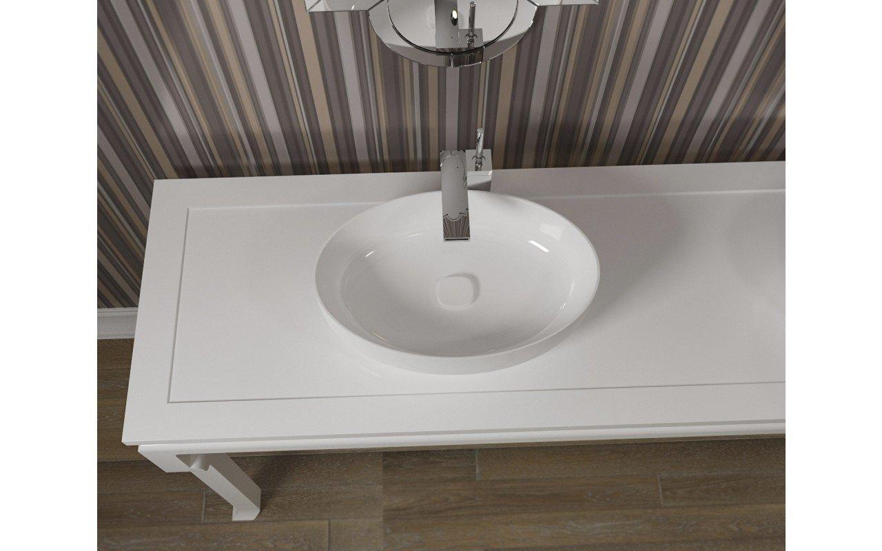 Metamorfosi Wht Ceramic Vessel Sink web 2