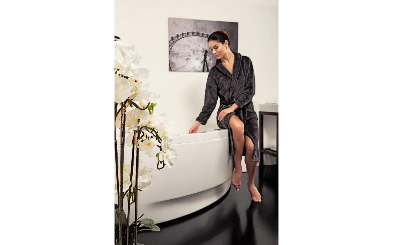 Olivia Relax Corner Acrylic Air Massage Bathtub by Aquatica web DSC2599