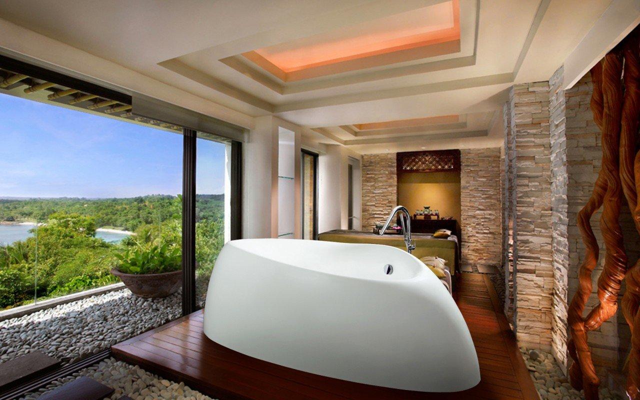 Organic White Bathtub 1200 1800