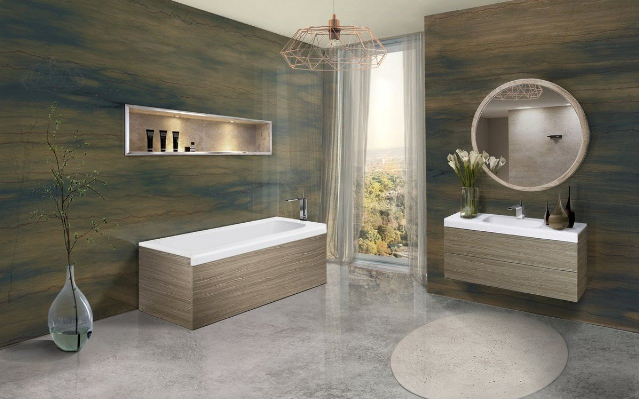 Pure 1l by aquatica back to wall stone bathtub with light decorative wooden side panels 02 1 (web)