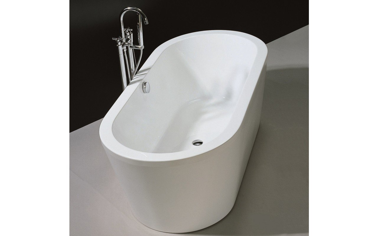 PureScape 014 Freestanding Acrylic Bathtub by Aquatica web 2