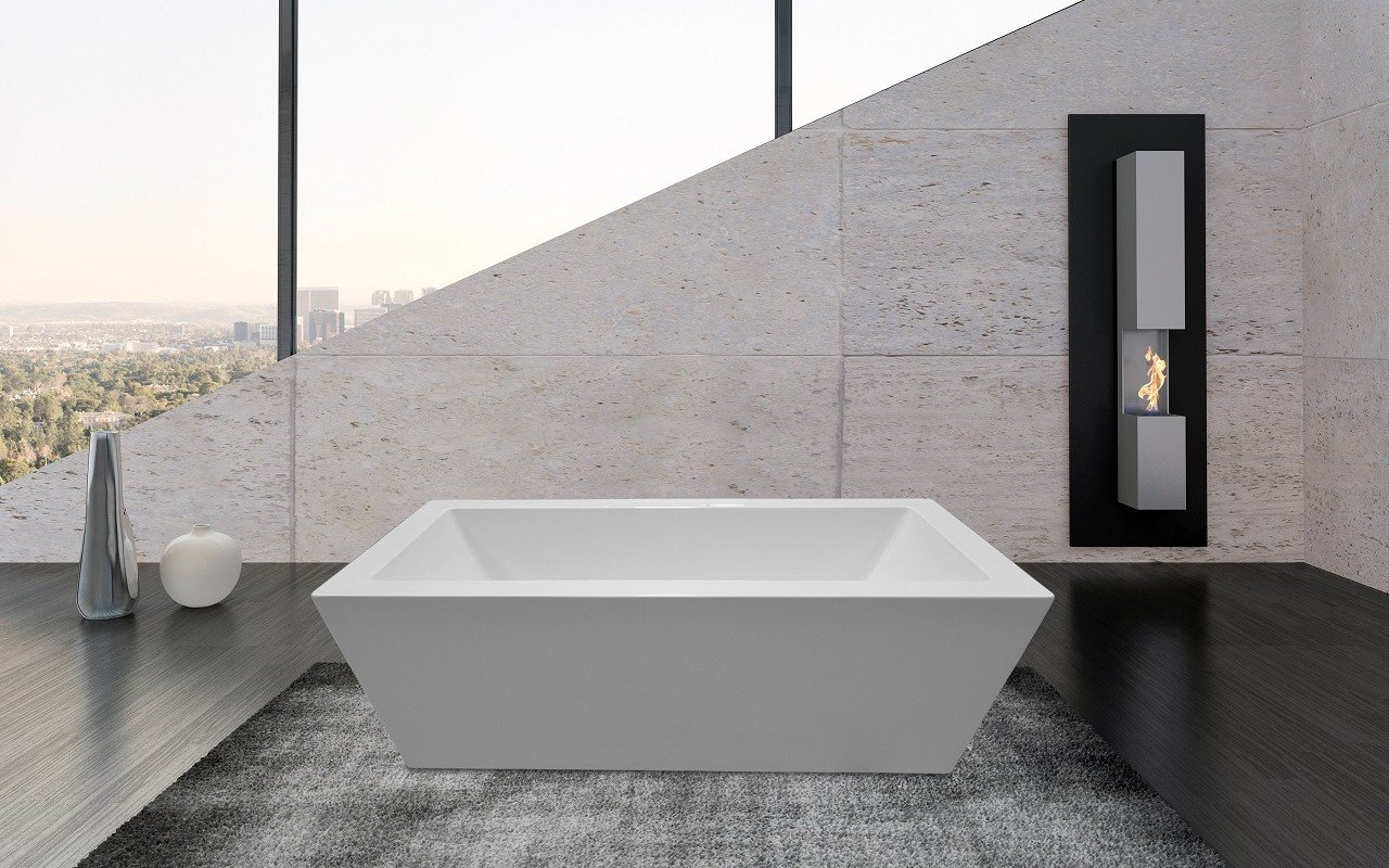 PureScape 026 Freestanding Acrylic Bathtub by Aquatica web 6 1