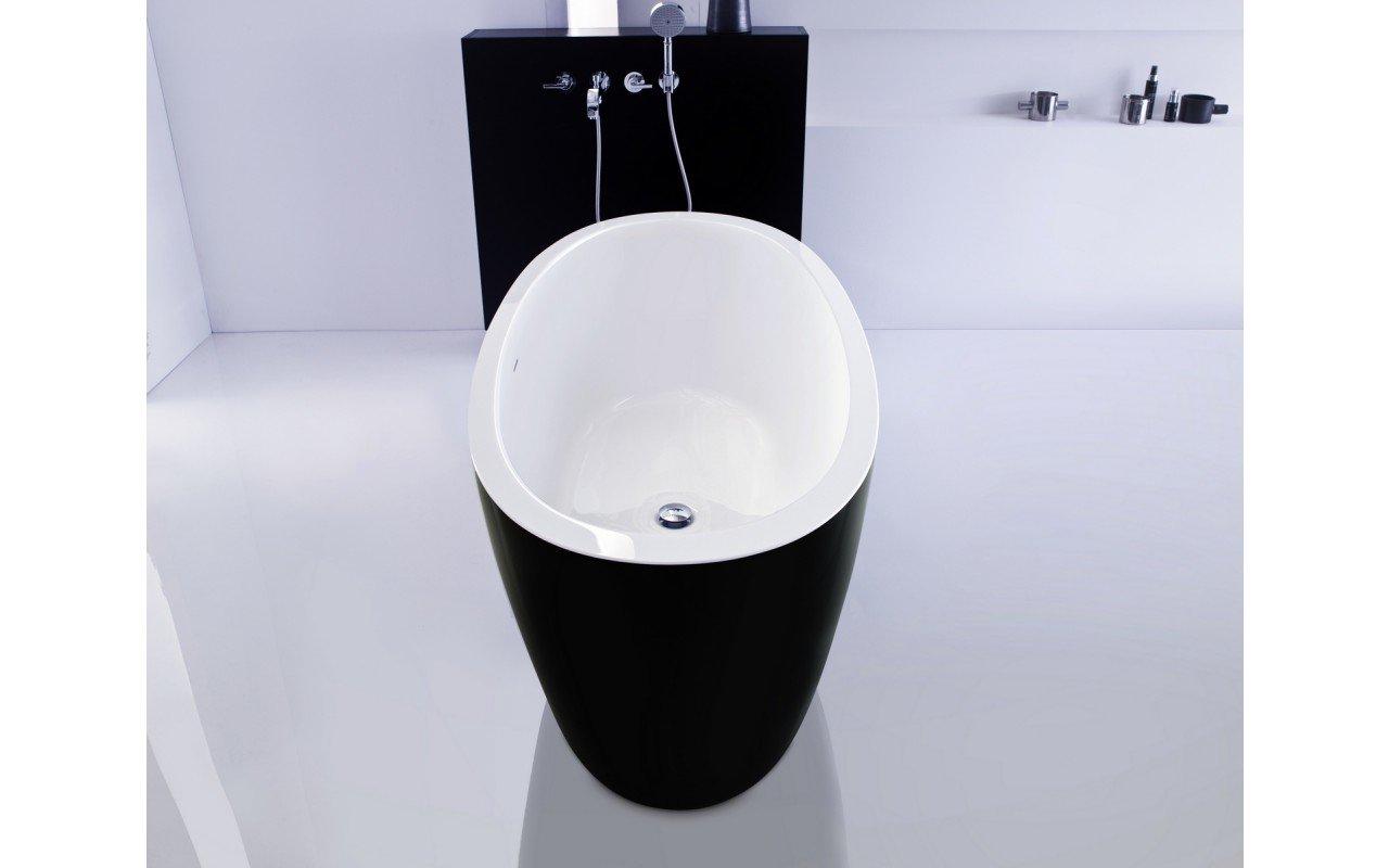 PureScape 174A Blck Wht Freestanding Acrylic Bathtub web(7)