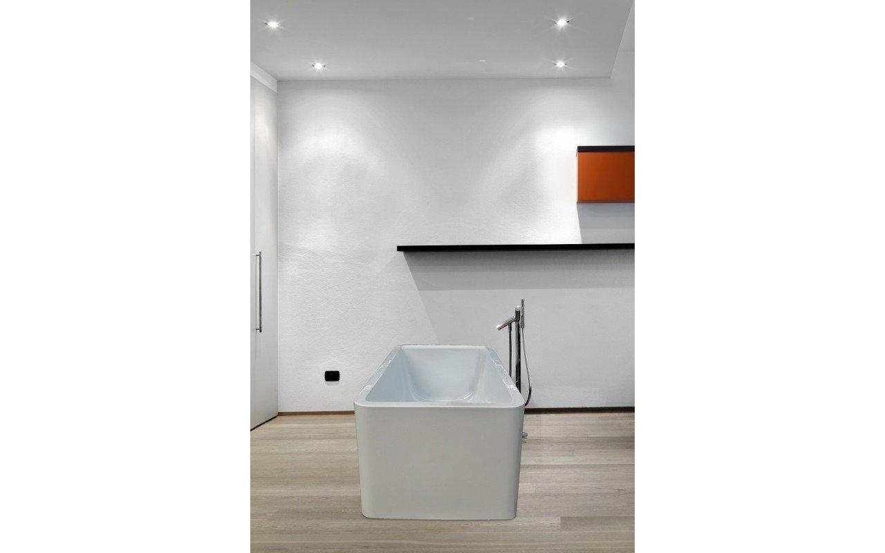 PureScape 327 Freestanding Acrylic Bathtub by Aquatica web 7
