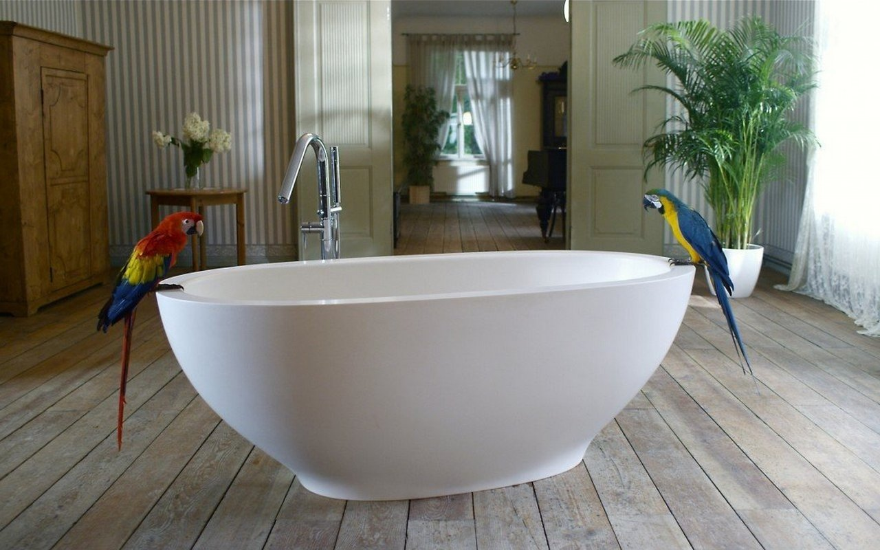 Aquatica Karolina 2 Freestanding Solid Surface Bathtub picture № 0