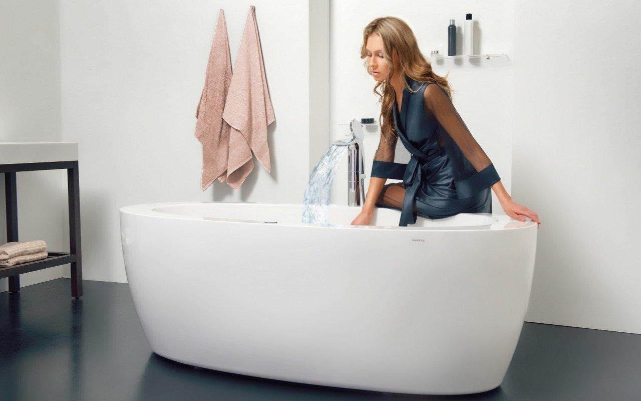 Purescape 174B Wht Relax Air Massage Bathtub DSC2746