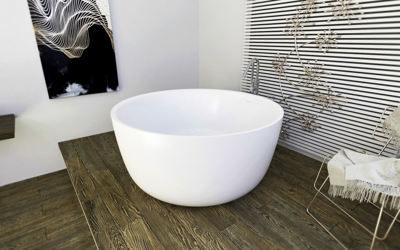Purescape 720 Freestanding Solid Surface Bathtub (4)