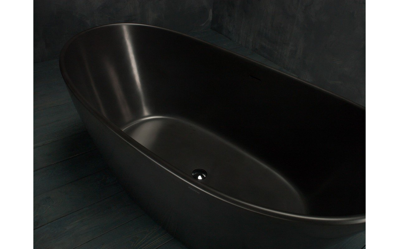 Purescape 748M Black Freestanding Stone Bathtub web (8)