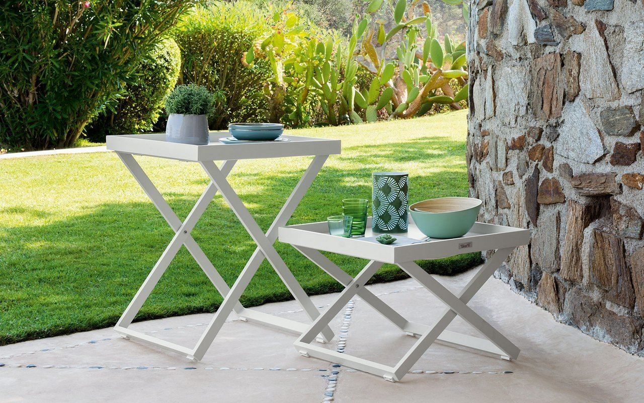 Ray Outdoor Table with Removable Tray by Talenti picture № 0