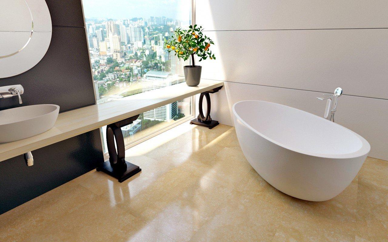 Spoon 2 Freestanding Solid Surface Bathtub (2)