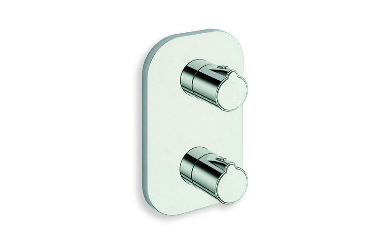 ᐈ Techno 752 High Throughput Thermostatic Valve With Built In Diverter And 2 Outlets Buy Online Best Prices