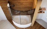 Anette B L Shower Tinted Curved Glass Shower Cabin 4 (web)