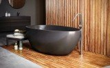Aquatica Spoon 2 Egg Shaped Graphite Black Solid Surface Bathtub 03 (web)