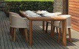 Cleo Iroko Wood Dinning Table by Talenti 02 (web)
