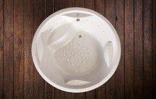 Allegra Wht Built In Relax Acrylic Bathtub 2