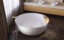 Aquatica Adelina Round Freestanding Solid Surface Bathtub 01 (web)