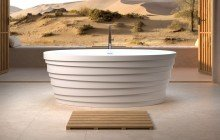 Aquatica Dune Freestanding Solid Surface Bathtub04