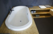 Carol Wht Drop In Large Oval Stone BathtubDSC1792 1 web