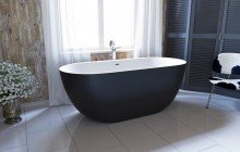 Corelia Black Wht Freestanding Stone Bathtub (1) (web)