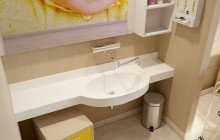 Aquatica Albi Baby Stone Wall Mounted Washbasin 01