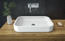 Small Square Vessel Sink picture № 6