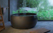 Aura Blck Freestanding Solid Surface Bathtub 07 (web)