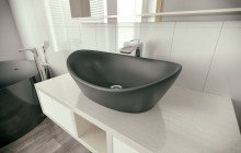 Luna Black Stone Lavatory by Aquatica (1) (web)