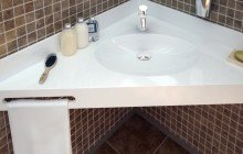 Metz White Stone Sink 01