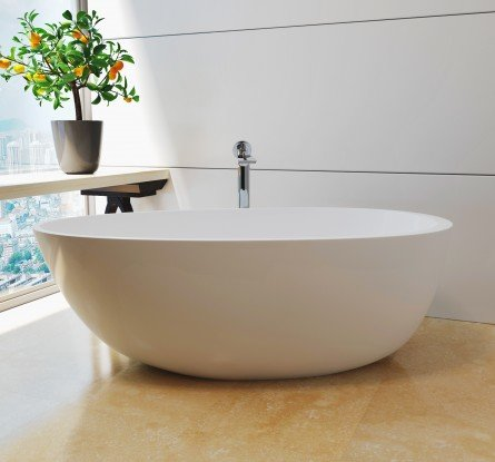 Spoon 2 Freestanding Solid Surface Bathtub (5)