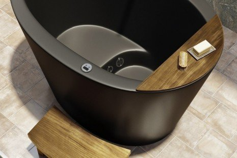 Aquatica True Ofuro Tranquility Heated Japanese Bathtub 110V 60Hz 08